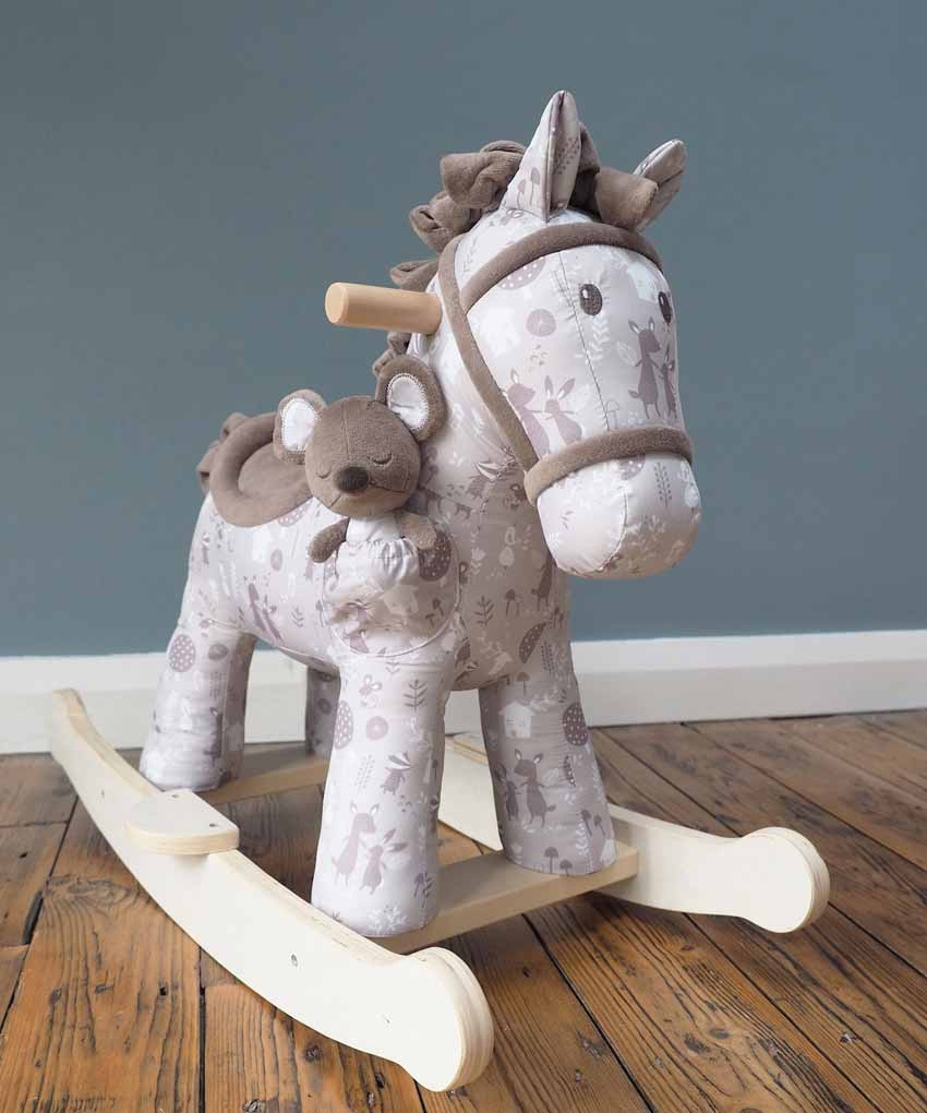 Biscuit & Skip Rocking Horse